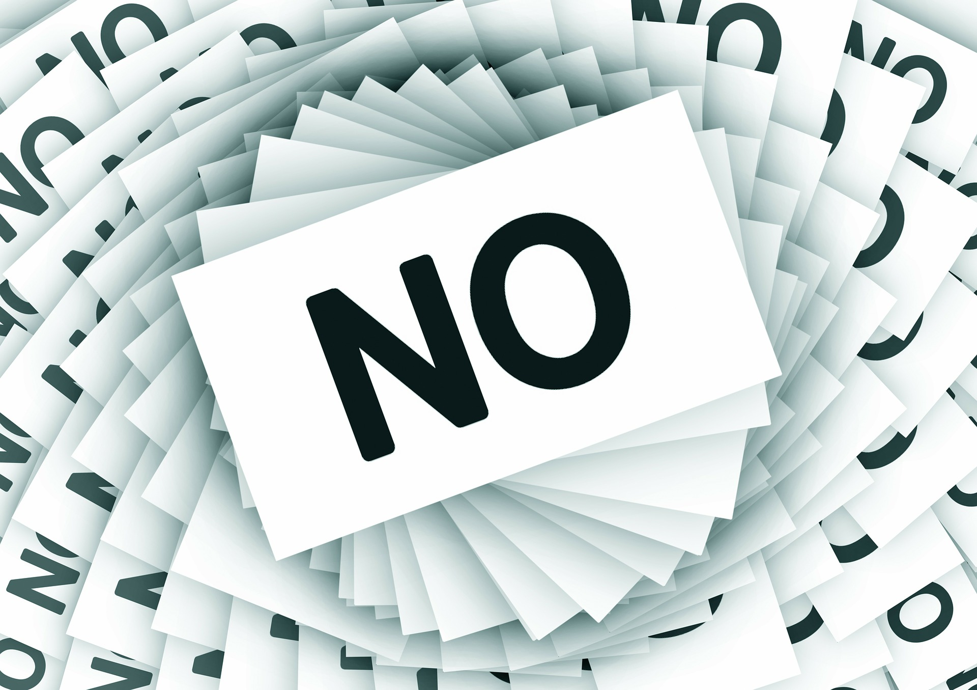 Always wondered what's so special about the word no? Always wanted to use it but you can't because you're afraid? Maybe you should give it a try?