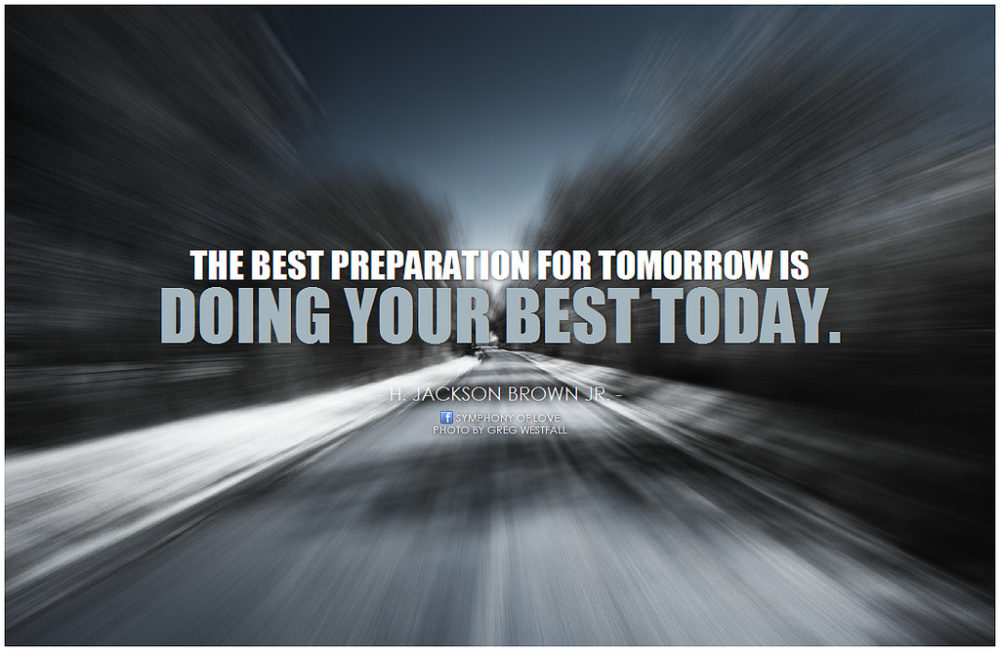 Tomorrow their will be a new day and most people are always counting on tomorrow. Are you like that as well? Are you a master procrastinator?