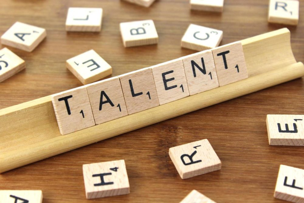 Today I'm going to address the difference between talent and hard work. Most people realize that there's a difference do you?