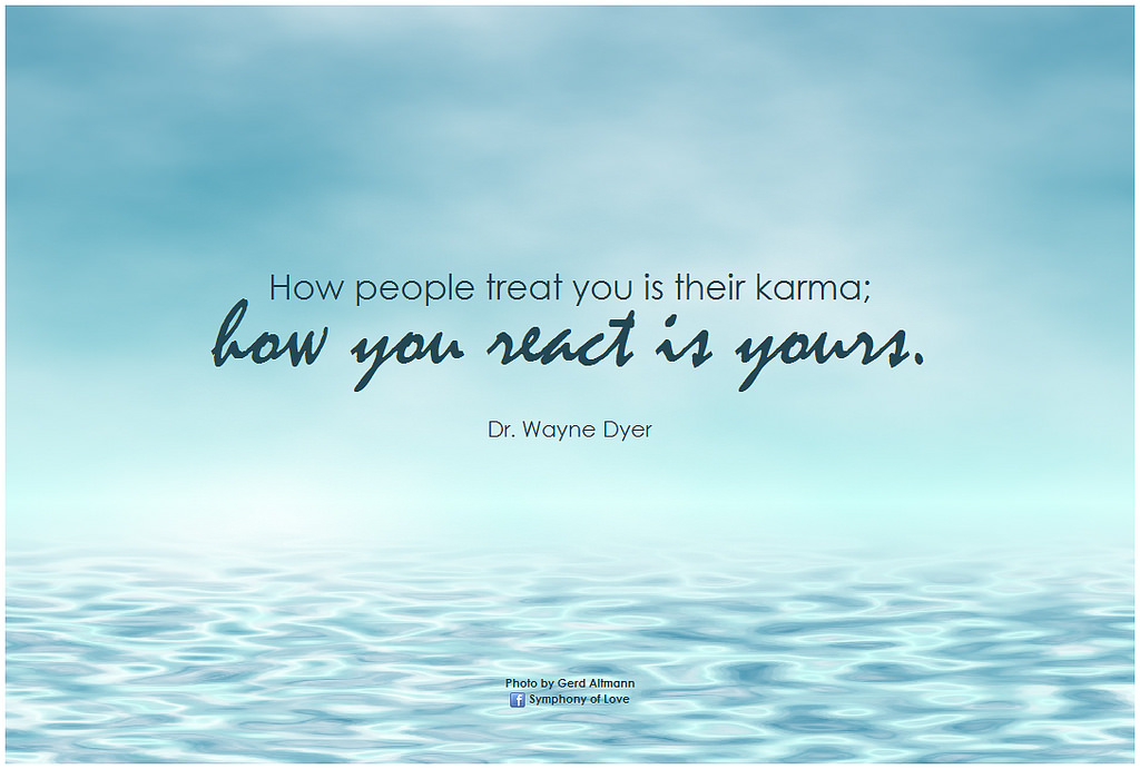 Karma Will Catch Up With You And You Deserve It Zero To Alpha